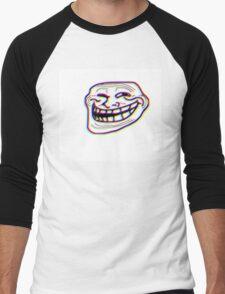 TROLL 3D Men's Baseball ¾ T-Shirt