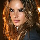 Victoria's Secret model Alessandra Ambrosio poses in Cipriani NY by Anton Oparin