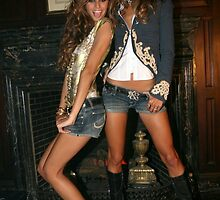 Victoria's Secret models Isabel Goulart and Alessandra Ambrosio by Anton Oparin