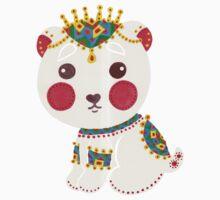 The Ethnic Polar Bear Baby Tee
