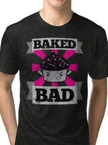 Bad Cupcake 2: Baked Bad Tri-blend T-Shirt