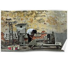 Scrap Metal Dealer, Malay Street Poster