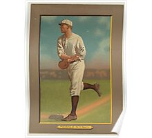 Benjamin K Edwards Collection Fred Merkle New York Giants baseball card portrait Poster