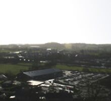 Ulverston Panoramic by Colin Bentham