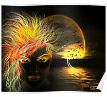 Dark Lake's Spirit Poster
