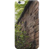 Sixth Street Embankment, Former Pennsylvania Railroad Embankment, Jersey City, New Jersey  iPhone Case/Skin