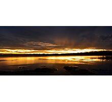 Golden Sunset. (30-1-12) Photographic Print