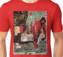 This Glacier was a Swimming Pool (rainy ending given to a perfect day).  Unisex T-Shirt