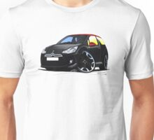 Citroen DS3 Black (Carmen) Unisex T-Shirt