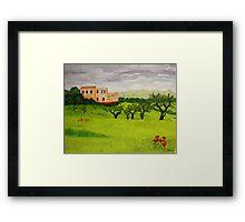 Mallorca Framed Print
