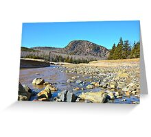The Beehive, Acadia National Park, ME Greeting Card