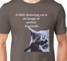 Drowsing Cat Unisex T-Shirt