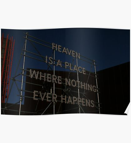 Heaven is a place on earth Poster