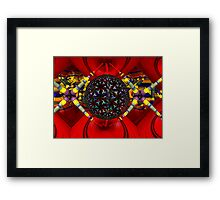 M3D:  Dilithium Crystal Reactor Chamber (UF0608) Framed Print