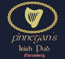 Finnegan's Irish Pub Nuremberg Oval Wappen Color by FinnegansNbg
