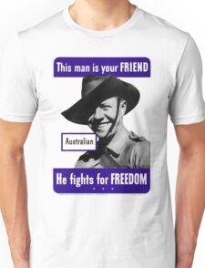 World War II Poster - US/Australian  Unisex T-Shirt