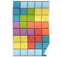 Tetris Boxes Poster