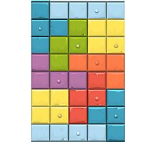 Tetris Boxes Photographic Print