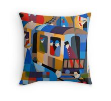 LAST TRAIN FROM HOBART 1978 Throw Pillow