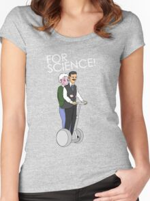 Joyride For Science Women's Fitted Scoop T-Shirt