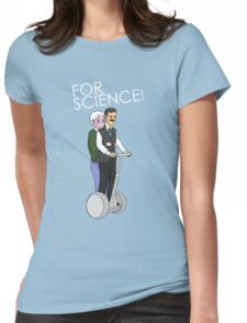 Joyride For Science Womens Fitted T-Shirt