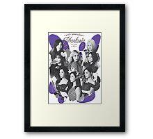Girls' Generation (SNSD) 'PHANTASIA' Concert - White Framed Print