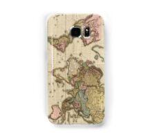 World Map (1812) Samsung Galaxy Case/Skin