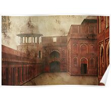 Red Fort - Agra Poster