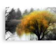 Foggy Morning © Canvas Print