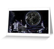 Full Moon On A Windy Night 2 Greeting Card