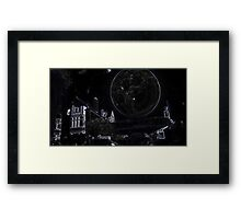 Full Moon On A Windy Night  4 Framed Print