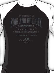 Office of Star and Bullock, Deadwood T-Shirt