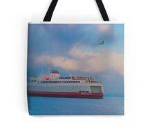 Transportation Tote Bag