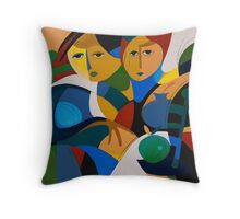 APPLES AND HONEY Throw Pillow