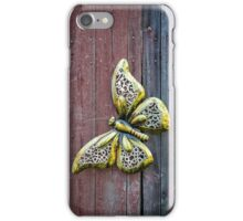 Golden Flutterby iPhone Case/Skin