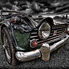 Triumph TR5 by Nigel Butterfield