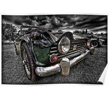 Triumph TR5 Poster