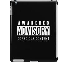 Awakened Advisory Conscious Content iPad Case/Skin