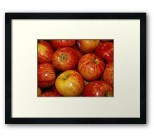 An Apple A Day! Framed Print