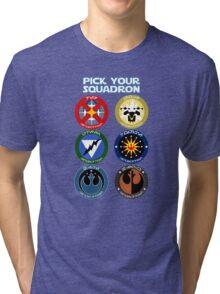 Pick Your Squadron - Insignia Series Tri-blend T-Shirt