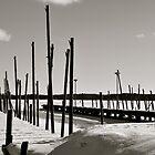 in winter no boats by Jari Hudd
