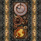 Elegant Steampunk Timepiece by Steve Crompton
