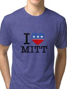 I Heart Mitt Tri-blend T-Shirt