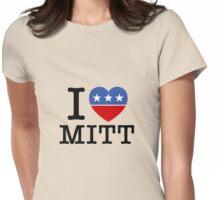 I Heart Mitt Womens Fitted T-Shirt
