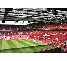Old Trafford, The theatre of dreams. Photographic Print