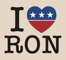 I Heart Ron by 72ndRedPenguin