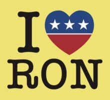 I Heart Ron Kids Clothes