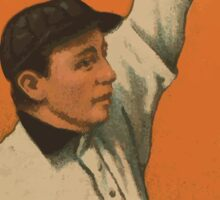 Benjamin K Edwards Collection Jimmy Slagle Baltimore Team baseball card portrait Sticker