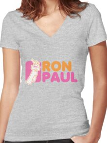 Ron Paul Liberty Women's Fitted V-Neck T-Shirt