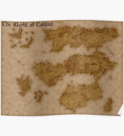 The World of Caldea Poster